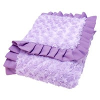 Trend Lab - Receiving Blanket - Ruffle Trimmed