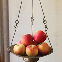 Rustic Repurposed Iron Fruit Basket