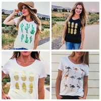 summer graphic tees