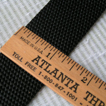 Black Nylon, Wide Webbing, Light Weight, A lovely webbing style with many uses.