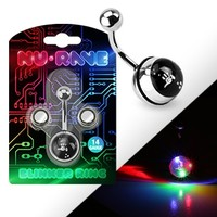 Light Up LED Belly Button Ring