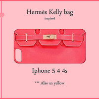 Iphone 5/4/4s Case-Iphone Fashion Cover-hermes-Iphone 5 case,Iphone 5 cover,Iphone 5 4 4s skin,Iphone 4/4s case,Iphone 4/4s cover,ysl