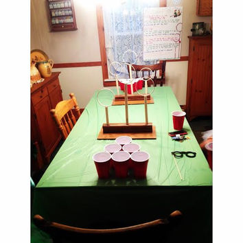 Quidditch Beer Pong Hoops
