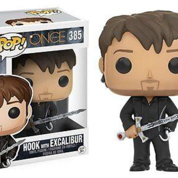 Funko Pop TV: Once Upon a Time - Hook with Excalibur Vinyl Figure