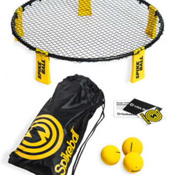 Spikeball: Energetic game combining volleyball and four square.