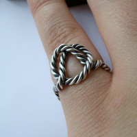 Remember Me Sailor  sterling silver ring by melaniefavreau on Etsy