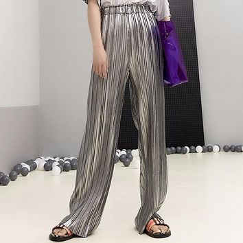 Pleated Angel Pants