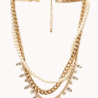 Street-Femme Layered Necklace