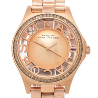 Marc by Marc Jacobs Henry Skeleton Glitz in Metallic Gold