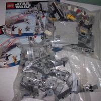 LEGO Star Wars AT-AT Walker (8129) with Manual Used Loose No Minifigures