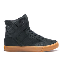 SKYTOP in BLACK - GUM | SUPRA Footwear