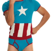 Underoos Marvel Captain America Guys Underwear Set