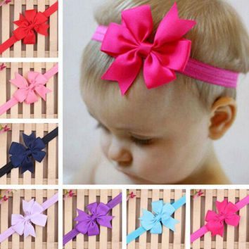 CUPUP9G 20 Colors Headband Hair Band Bowknot Headwear Accessories