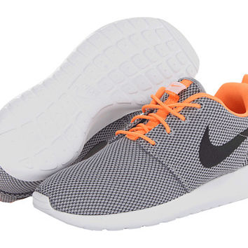Nike Roshe Run Wolf Grey Atomic Orange White Black - Zappos.com Free  Shipping BOTH Way 1b22d417b960