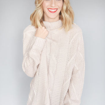 Aspen Tree Knit Sweater