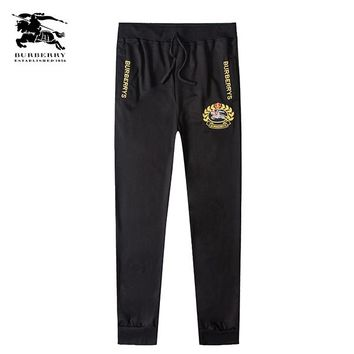 Boys & Men Burberry Fashion Casual Pants Trousers Sweatpants