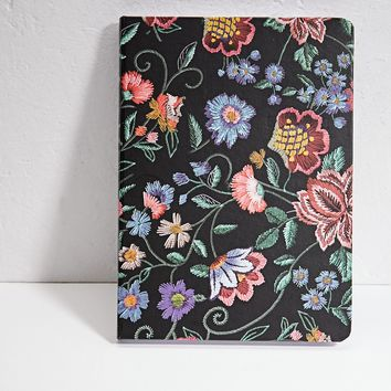 Embroidered floral print planner - Stationery | Stradivarius Nederland