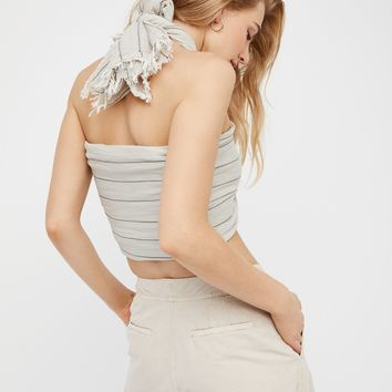 Free People Great Length Striped Scarf