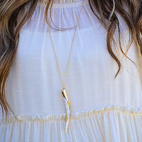 Singled Out Necklace