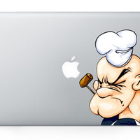 Popeye MacBook Decal