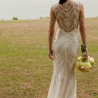 top market straps mermaid lace wedding dress