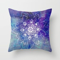 Just Breathe Throw Pillow by rskinner1122