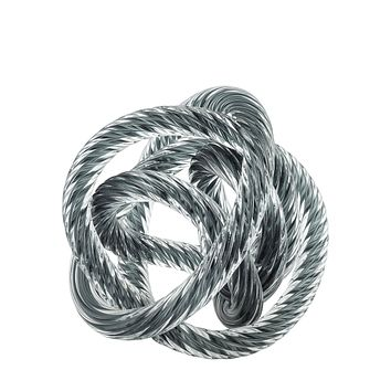 Gray Glass Rope Desk Accessory | Eichholtz Dominico M