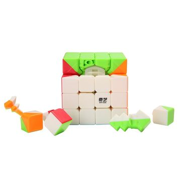4x4x4 62mm Speed Magic Cube Puzzle Cubes Learning Educational Toys For Children Professional Cubo Magico Candy Color Kids Toy