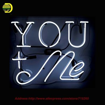 YOU+ME Neon Sign
