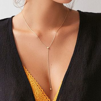 Ariella Opal Lariat Necklace | Urban Outfitters