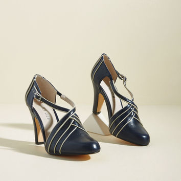 Chelsea Crew Time for Terpsichore Heel in Navy
