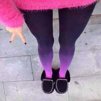 Ombre Stockings