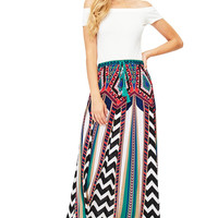 Chevron Labyrinth Skirt
