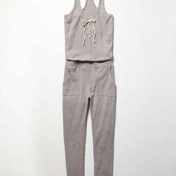 Intimately Womens Neps Thermal Romper - Grey,