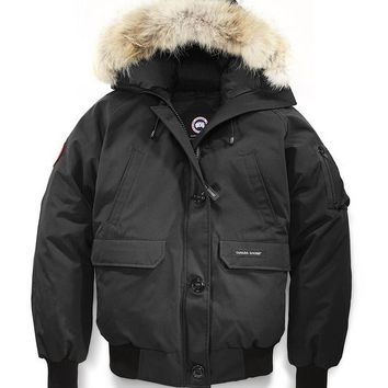 Canada goose chilliwack bomber winter WOMEN Down jacket/black