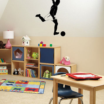 Wall Vinyl Decal Any Room Sport Football Player Housewares Mural Sticker V134