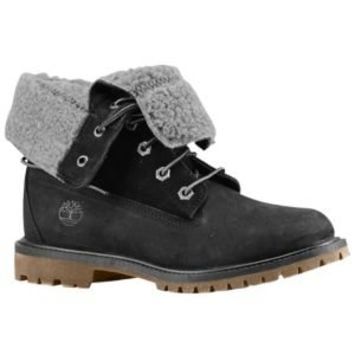 Timberland Teddy Fleece Fold Down Boot - Women's at Foot Locker
