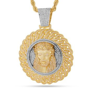The Jesus Medallion Necklace