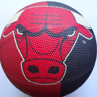 Vintage Spalding Chicago Bulls Basketball