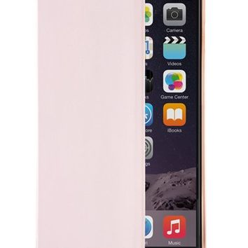Ted Baker London 'Kadia' iPhone 6 Plus Folio with Mirror - Pink