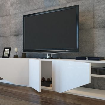 """Decorotika Pearl 71"""" TV Stand and Entertainment Center"""