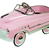 Comet Sedan Pedal Car, Pink, Children's Toys