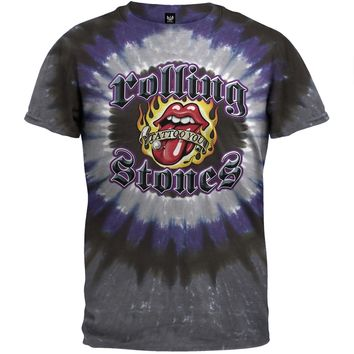 Rolling Stones - Tattoo You Stud Tie Dye T-Shirt
