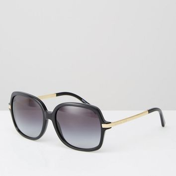 Michael Kors Adrianna II Signiture Butterfly Sunglasses in Black at asos.com