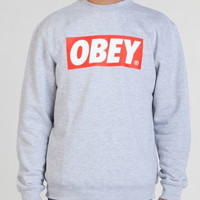 Obey sweatshirt jumper pullover jacket unisex xs to xl