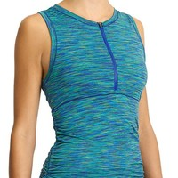 Athleta Womens Paddleout Space Dye Rashguard