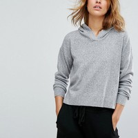 Micha Lounge - Sweat à capuche court at asos.com