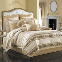 J. Queen New York™ Marcello Comforter Set in Gold