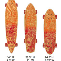 STRGHT Skateboards Kiana Design in Bamboo