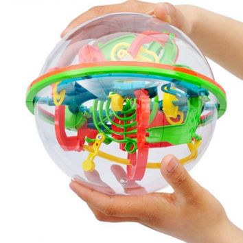3D Labyrinth Magic Rolling Globe Puzzle  Brain Teaser Game